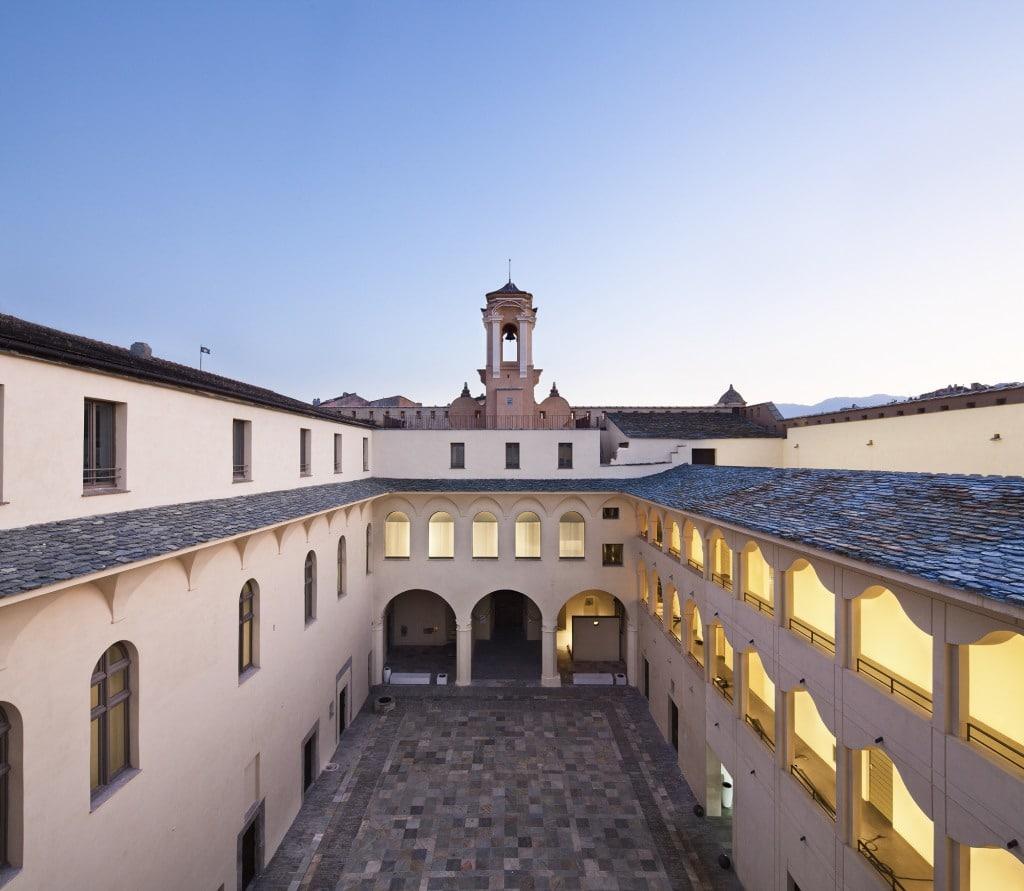 Cour du Musée de Bastia